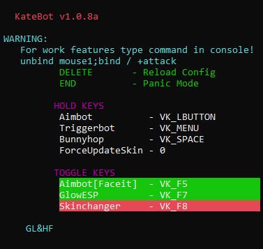 Katebot hack client