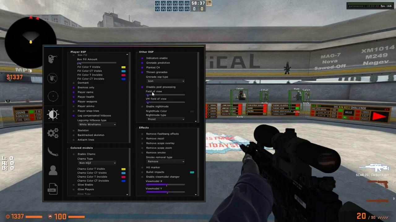 PPHUD CSGO cheat for PC